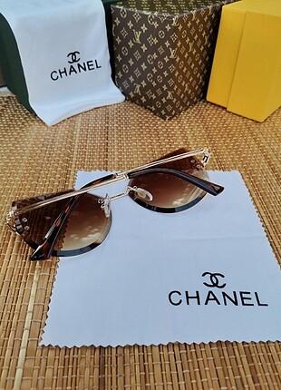 Beden kahve Renk Chanel güneş gözlügü