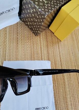 Beden siyah Renk Jimm choo güneş gözlüğü