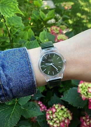 Swatch kadın kol saati
