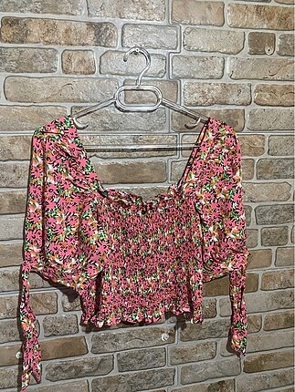 Çiçekli bluz