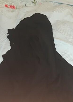 Siyah uzun gomlek