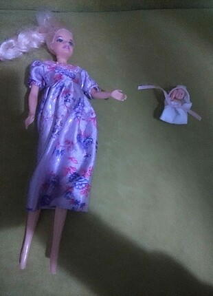 Hamile Barbie bebek