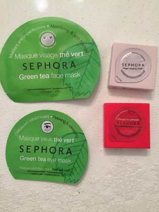 Sephora maske 4 adet