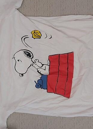 Snoppy karakterli tişört