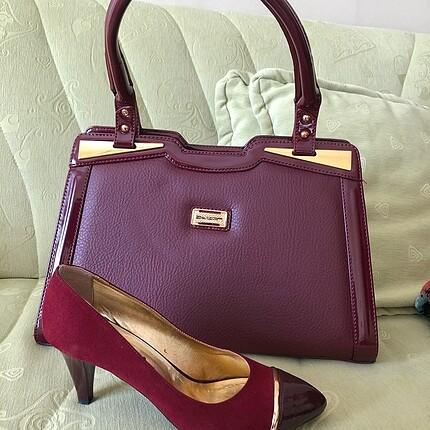 Çanta ayakkabı takım