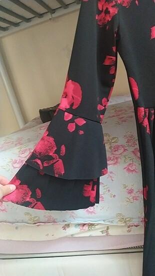 36 Beden Çiçekli elbise