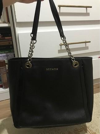 beymen marka siyah çanta