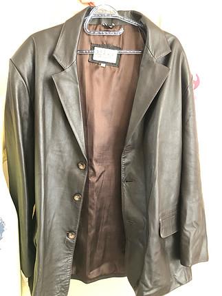 Özel yapım erkek deri ceket