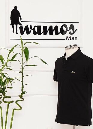 l Beden siyah Renk Erkek Polo Yaka Tshirt
