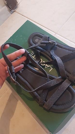 simli sandalet