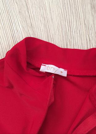 Tiny red monica bodysuit