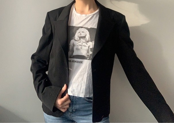 m Beden siyah Renk Vintage Ceket