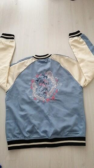 İşlemeli spor şık ceket