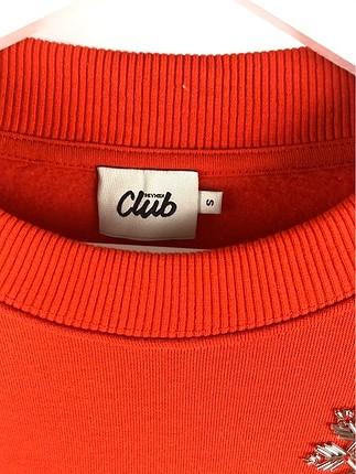 s Beden kırmızı Renk Sweatshirt