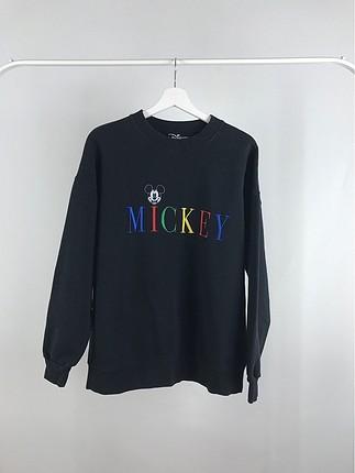 Mickey Baskılı Sweatshirt