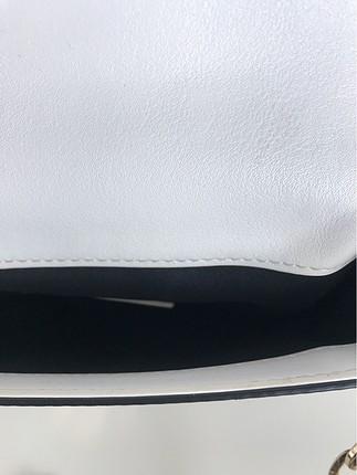 Beden beyaz Renk Çapraz Çanta