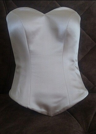 Çelik balenli elbise/gelinlik korse