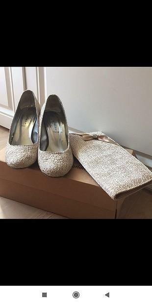 Şık abiye ayakkabı & çanta