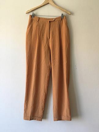 Vintage yazlık ince pantolon