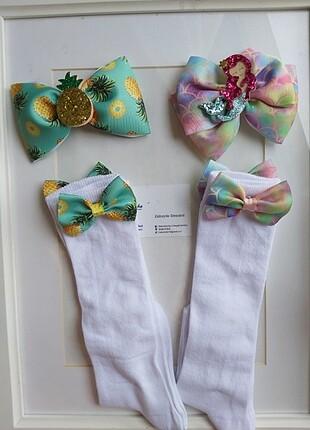 Toka ve çorap setleri