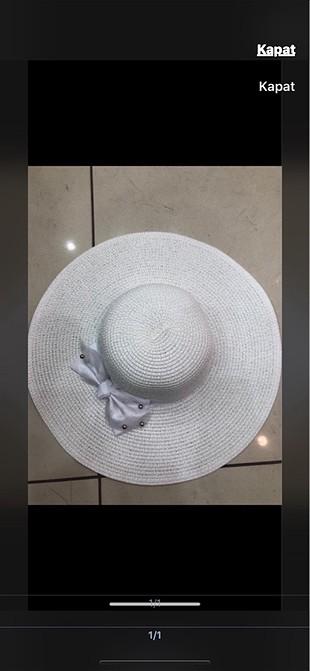 Bayan hasır şapka