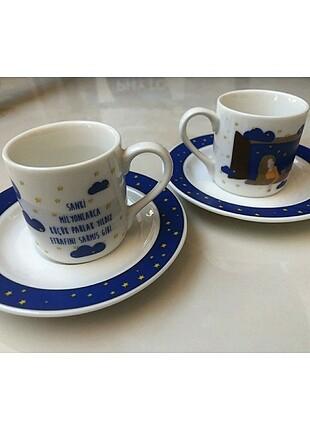 Güral Porselen Kahve Fincan Takımı