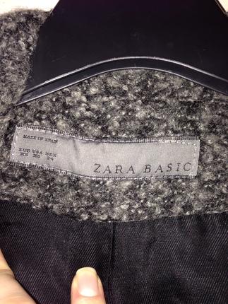 36 Beden gri Renk Zara kışlık ceket
