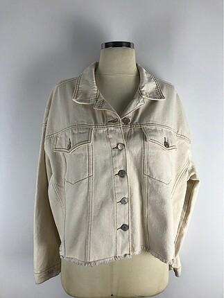 Açık Renk Kot Ceket