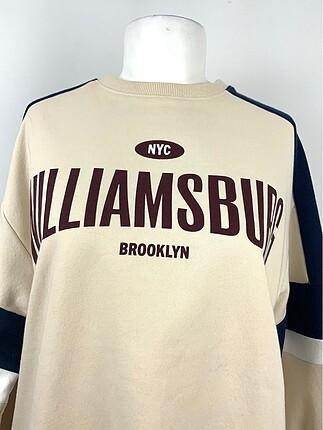 H&M Yazı Detaylı Sweatshirt