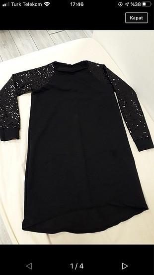 Payet tunik elbise