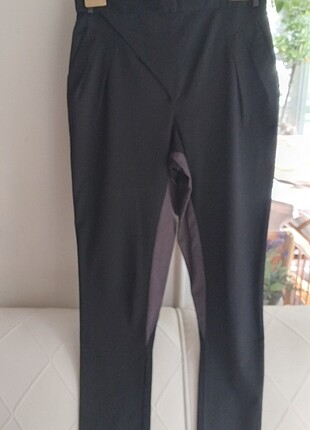 H&M siyah süper Binici pantolonu 38bd.
