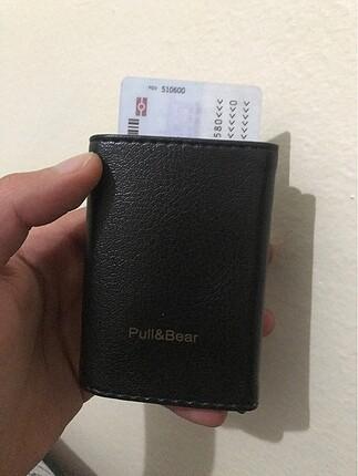 Deri cüzdan kartlık mekanizmalı sıfır ürün