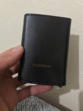 Pull and Bear Deri cüzdan kartlık mekanizmalı sıfır ürün