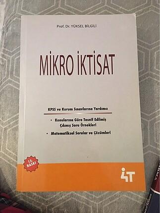 Yüksek Bilgili mikro iktisat kitabı.