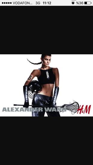 Alexander Wang for H&M spor atlet 38 beden