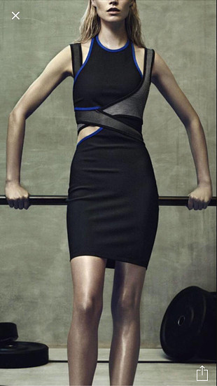 Alexander Wang for H&M elbise