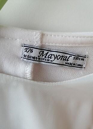 Mayoral beyaz elbise