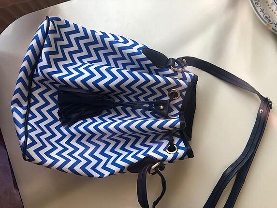 Büzgülü kol çantası