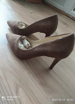 40 Beden camel Renk Topuklu ayakkabı