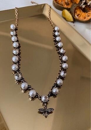Dior İnci Kolye