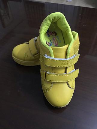 30 Beden sarı Renk Sarı spor ayakkabı