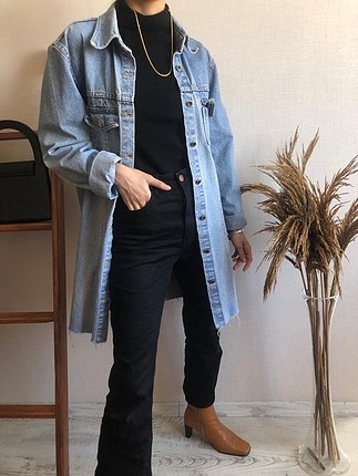 Vintage kot ceket