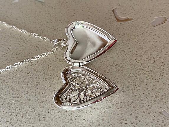 Goldaş Gümüş kalpli kolye ????????????
