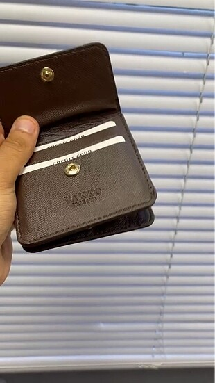 Vakko Vakko mini cüzdan