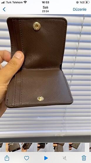 Beden Vakko mini cüzdan