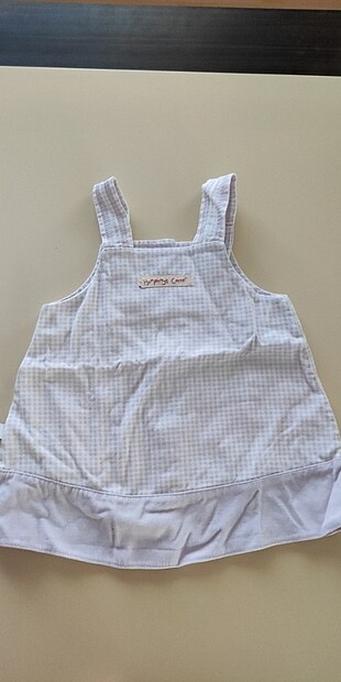 Askılı bebek elbisesi