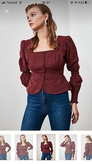 Bordo bluz