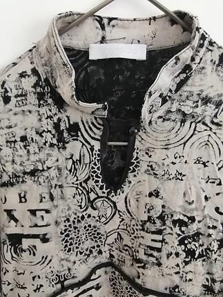 Promod likralı kumaş bluz