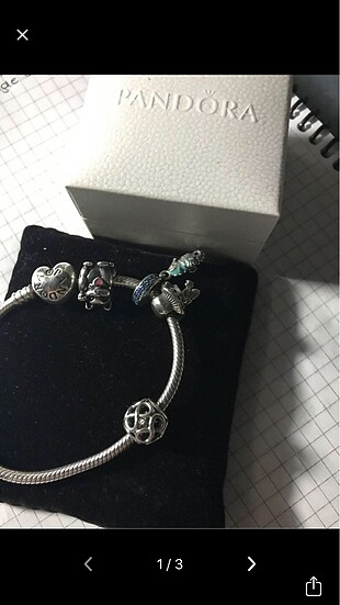 Orijinal Pandora charm