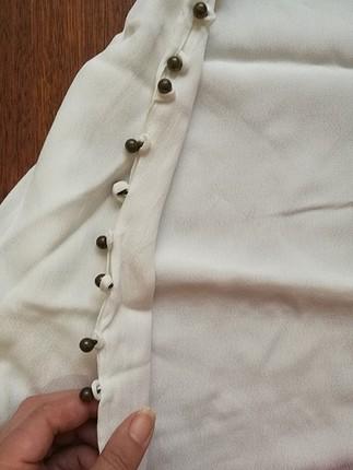 42 Beden ekru Renk İpekyol bluz
